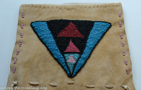 Custom beaded dog jacket