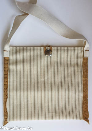 canvas multi purpose purse