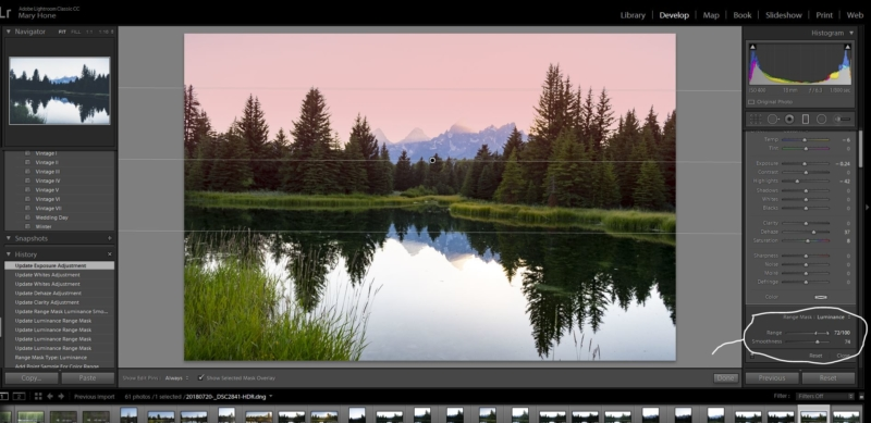 From Clicking to Creating-Graduated Filter in Lightroom
