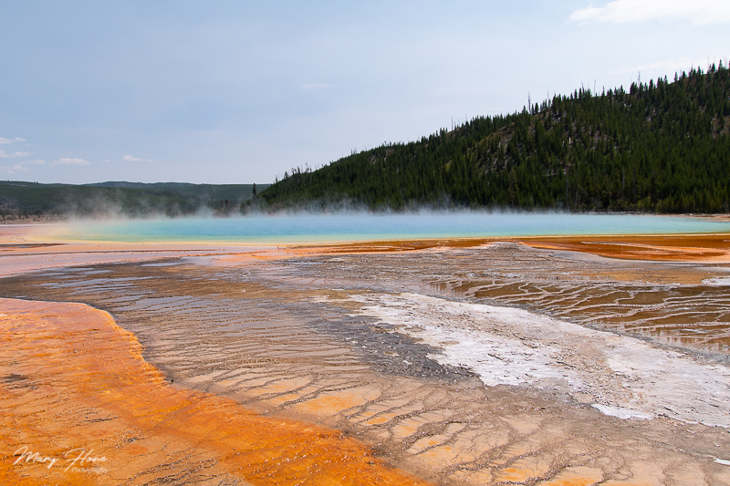 yellowstone national park grand prismatic
