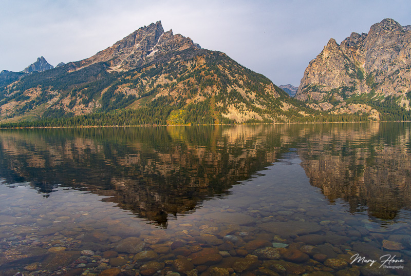 Focus stacking, jenny lake