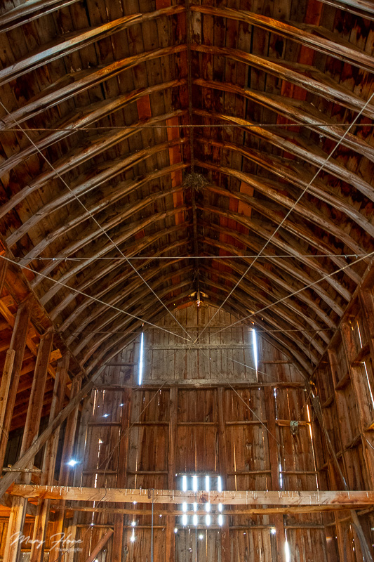 old barn interior