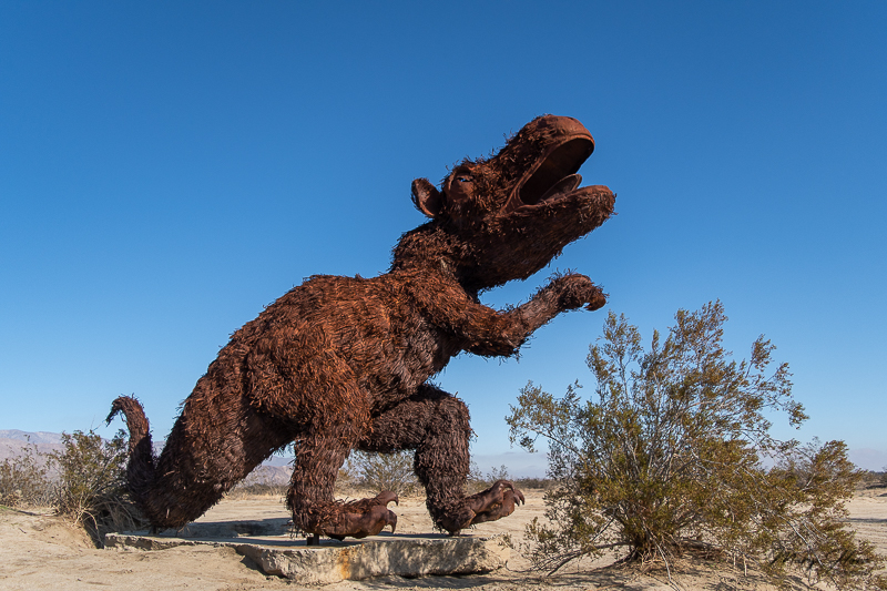 Borrego Springs Sculptures in the Desert, sloth
